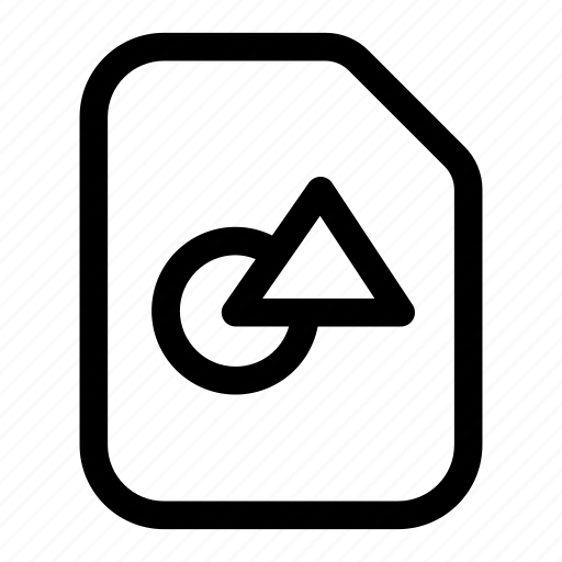 art, draw, drawing, file, illustrator icon
