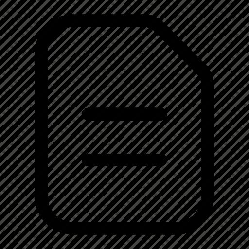 compare, doc, equal, file, notes, paper icon
