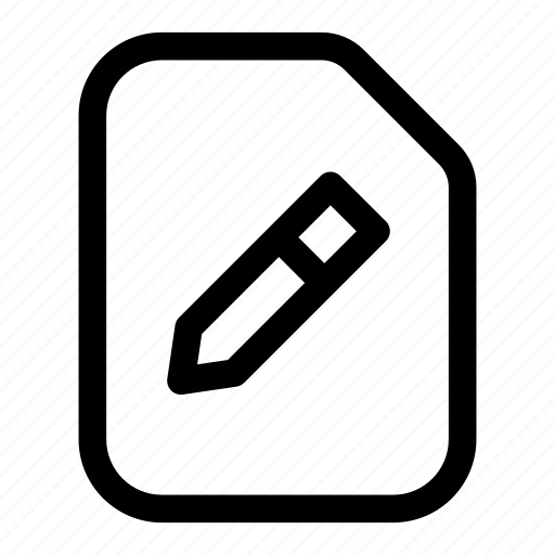 edit, pen, pencil, update, write icon