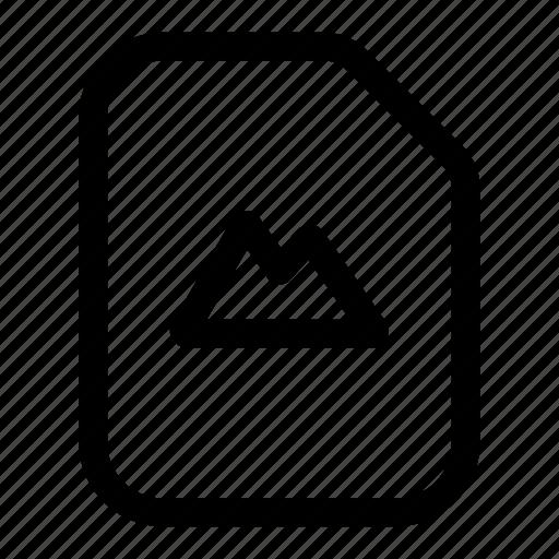 file, gallery, media, photo, picture icon
