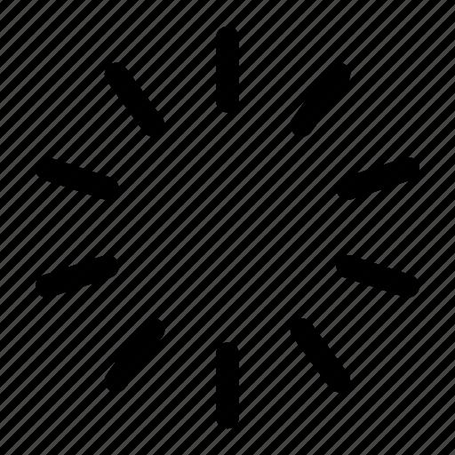circular, lines, loader, loading, preloader, progress icon