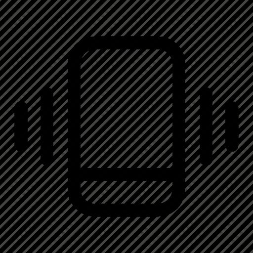 mobile, phone, ring, vibrate, vibration icon