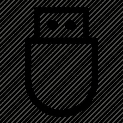 disk, drive, hard, pen, storage, transfer, usb icon