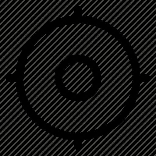 crosshair, gps, location, locator, map icon