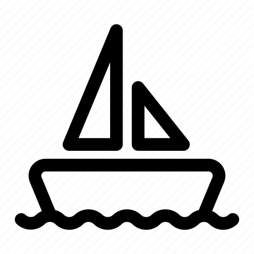 boat, sailor, sea, transport, transportation, water icon