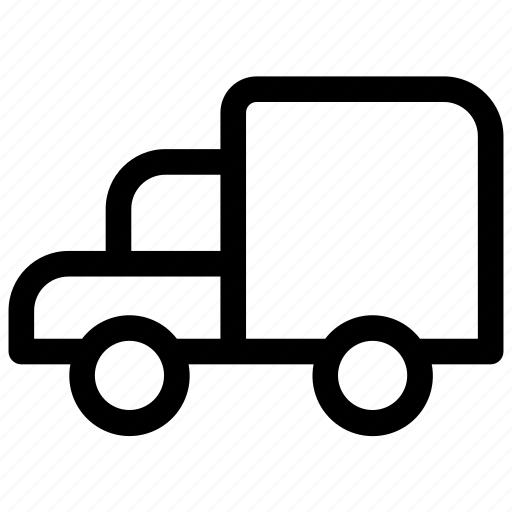 goods, heavy, lorry, truck, vehicle icon