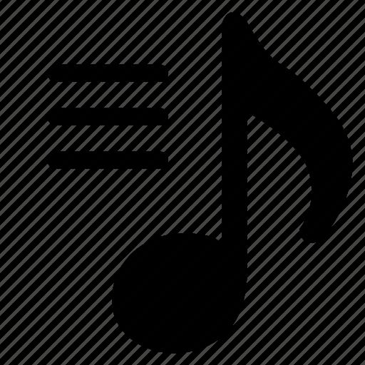 audio, composition, lyrics, text icon