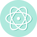 atom, editor, software icon