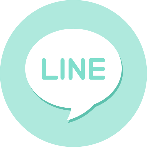 line, message, software icon