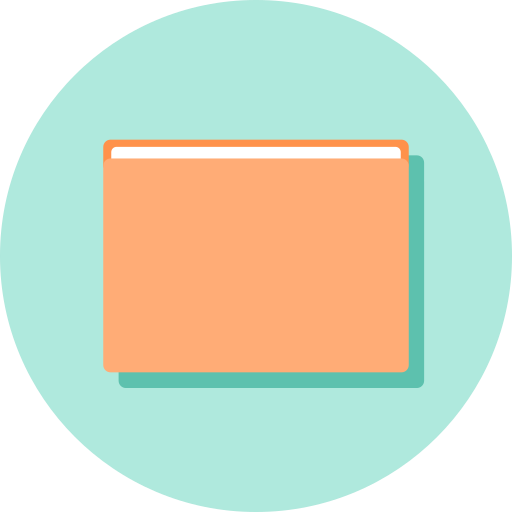 file, manager, software icon