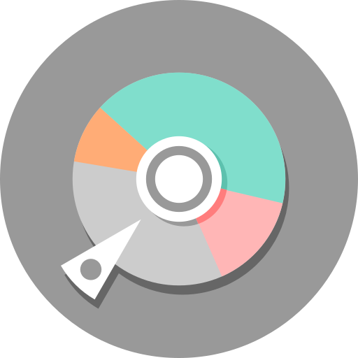 disk, gparted, software icon