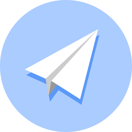 paperplane, software, telegram icon