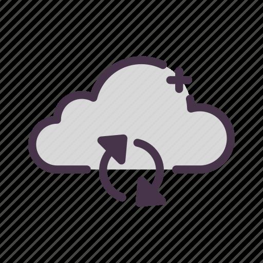 cloud, storage, sync, synchronization, update icon