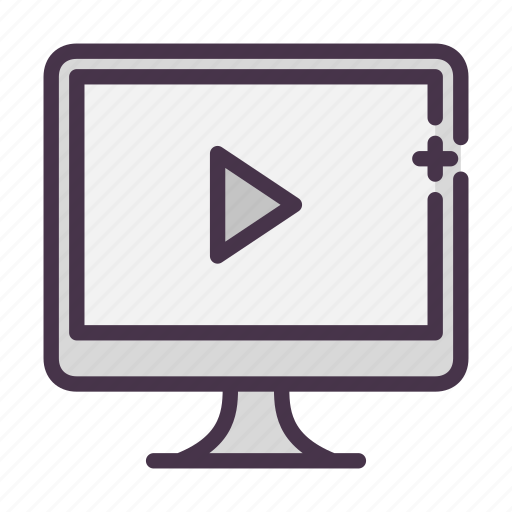 mov, movie, play, video, youtube icon
