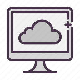 cloud, device, icloud, imac, repository, storage icon