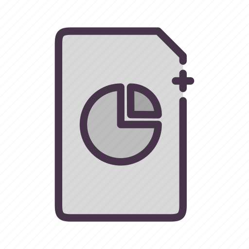 analytics, chart, file, report icon