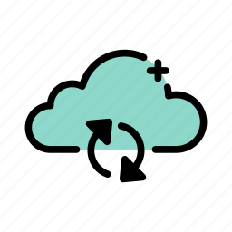 cloud, storage, sync, synchronization, update icon