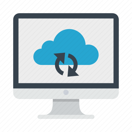 cloud, repository, sync, synchronization, update icon