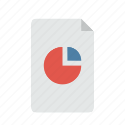 analytics, chart, file, report icon