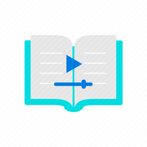book, training, video icon