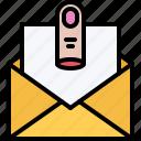 criminal, finger, gang, letter, mafia, message