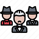 bandit, criminal, gang, godfather, mafia, mafioso icon