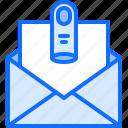 criminal, finger, gang, letter, mafia, message icon