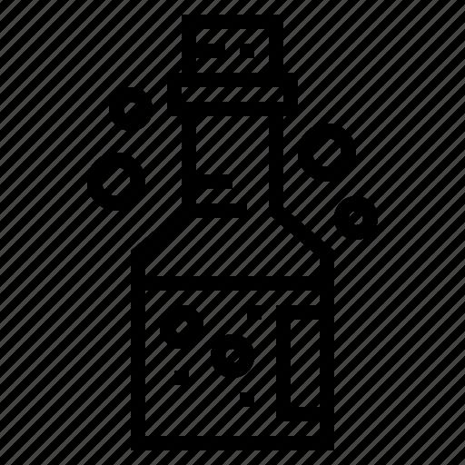 bottled, chemistry, danger, poison icon