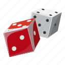 cartoon, chance, cube, dice, gambling, game, luck