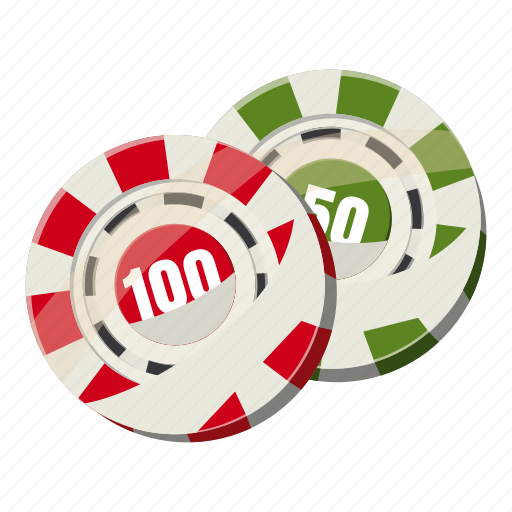 cartoon, casino, chip, gambling, game, poker, token icon