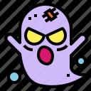 fear, ghost, halloween, spooky icon