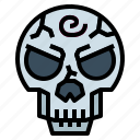 anatomy, corpse, death, skull icon