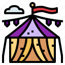 circus, entertainment, fair, tent