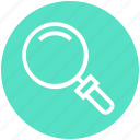 find, glass, magnifier, magnifying glass, search, zoom