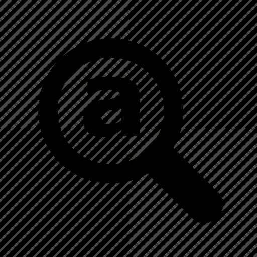 audit, estimate, explore, explorer, find, glass, internet, keyword, magnifying icon