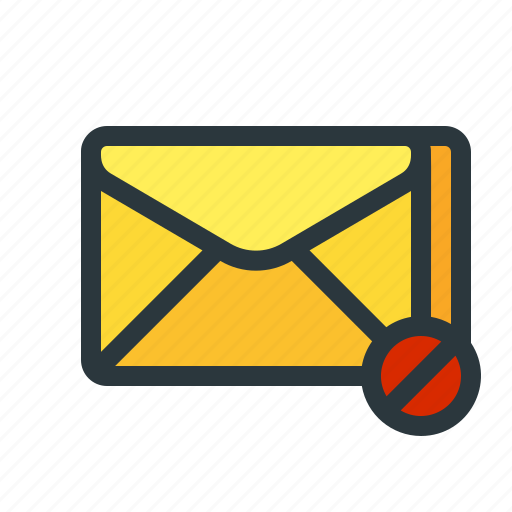 blocked, email, filtered, mail, newsletter, pishing, spam icon