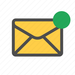 email, mail, notification icon