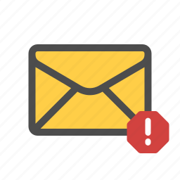 email, mail, spam icon