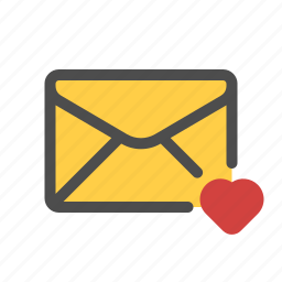 email, favorite, like, love, mail icon