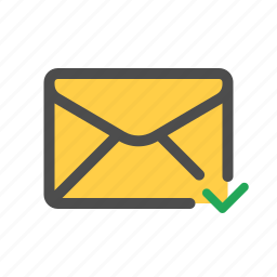 email, mail, sent icon