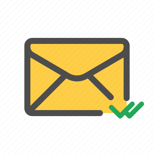 delivered, email, mail icon