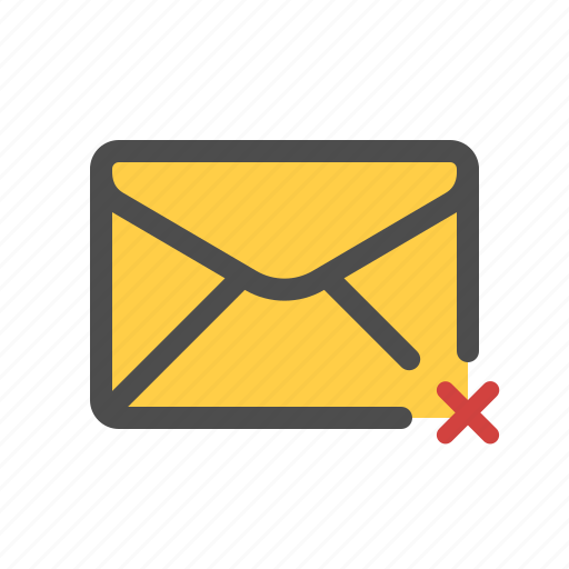 email, mail, unsent icon
