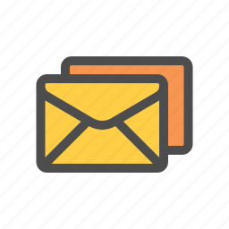 all, group, mail icon