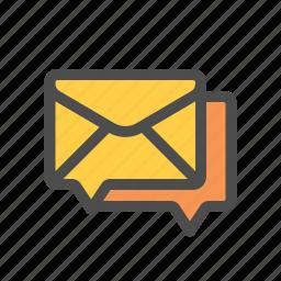 forum, mail icon
