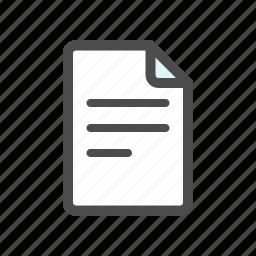 draft, file, new icon