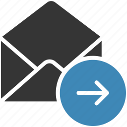 email, envelope, letter, mail, message icon, sent icon