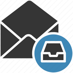 archive, email, envelope, letter, mail, message icon icon