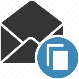 envelope, letter, mail, message icon, • email icon