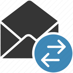 email, envelope, forward, letter, mail, message icon, receive icon