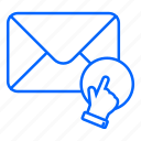 email, envelope, internet, letter, mail, message icon